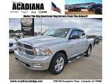 2010 Bright Silver Metallic Dodge Ram 1500 Big Horn Crew Cab #61868325