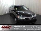 2012 Attitude Black Metallic Toyota Camry LE #61868536