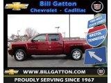 2009 Deep Ruby Red Metallic Chevrolet Silverado 1500 LT Z71 Crew Cab 4x4 #61868710