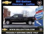 2012 Black Chevrolet Silverado 1500 LT Extended Cab 4x4 #61868706