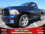 2012 True Blue Pearl Dodge Ram 1500 Express Regular Cab #61868305