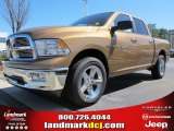 2012 Saddle Brown Pearl Dodge Ram 1500 Big Horn Crew Cab #61868302