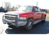 1996 Colorado Red Dodge Ram 3500 ST Extended Cab Dually #61868512