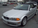2001 Titanium Silver Metallic BMW 3 Series 330i Convertible #61868510