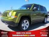 2012 Rescue Green Metallic Jeep Patriot Latitude #61868285
