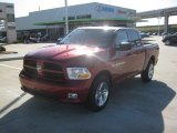 2012 Deep Cherry Red Crystal Pearl Dodge Ram 1500 Express Crew Cab #61868499