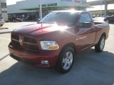 2012 Deep Cherry Red Crystal Pearl Dodge Ram 1500 Express Regular Cab #61868496