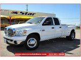 2008 Bright White Dodge Ram 3500 ST Quad Cab Dually #61868493
