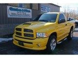 2005 Solar Yellow Dodge Ram 1500 SLT Rumble Bee Regular Cab 4x4 #61868387