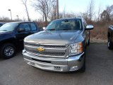 2012 Graystone Metallic Chevrolet Silverado 1500 LT Extended Cab 4x4 #61908384