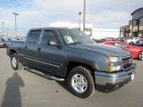 2006 Blue Granite Metallic Chevrolet Silverado 1500 LT Crew Cab 4x4 #61908368