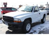 2003 Bright White Dodge Dakota Regular Cab 4x4 #61908353