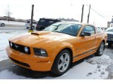 2007 Grabber Orange Ford Mustang GT Premium Coupe #61908351