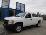 2012 Summit White Chevrolet Silverado 1500 Work Truck Regular Cab 4x4 #61907994