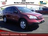 2008 Tango Red Pearl Honda CR-V LX 4WD #61908593