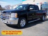 2012 Black Chevrolet Silverado 1500 LT Extended Cab 4x4 #61907964