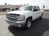 2012 Summit White Chevrolet Silverado 1500 LT Crew Cab 4x4 #61908300