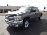 2012 Graystone Metallic Chevrolet Silverado 1500 LT Crew Cab 4x4 #61908299