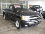 2009 Black Chevrolet Silverado 1500 LT Regular Cab 4x4 #61907906