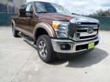 2012 Golden Bronze Metallic Ford F250 Super Duty Lariat Crew Cab 4x4 #61908164