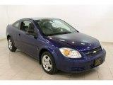 2007 Laser Blue Metallic Chevrolet Cobalt LS Coupe #61908412