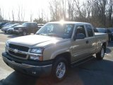 2005 Sandstone Metallic Chevrolet Silverado 1500 Z71 Extended Cab 4x4 #61908098