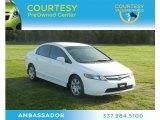 2007 Taffeta White Honda Civic LX Sedan #61966864