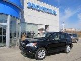 2009 Crystal Black Pearl Honda CR-V EX 4WD #61966425