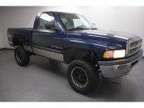2001 Patriot Blue Pearl Dodge Ram 1500 Regular Cab 4x4 #61966798