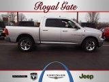 2011 Bright Silver Metallic Dodge Ram 1500 Big Horn Crew Cab 4x4 #61967105