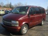 2001 Chevrolet Astro Dark Carmine Red Metallic