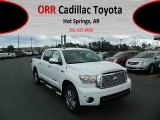 2012 Super White Toyota Tundra Limited CrewMax 4x4 #61966661