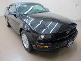 2006 Black Ford Mustang V6 Premium Convertible #61966282