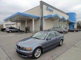 2004 Steel Blue Metallic BMW 3 Series 325i Coupe #61967031