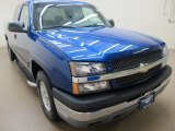 2003 Arrival Blue Metallic Chevrolet Silverado 1500 LS Extended Cab #61966279