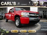 2009 Victory Red Chevrolet Silverado 1500 LT Extended Cab 4x4 #61966271