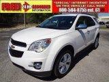 2010 Summit White Chevrolet Equinox LTZ #61966987