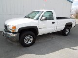2007 Summit White GMC Sierra 2500HD Classic Regular Cab 4x4 #61966975