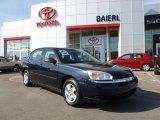 2005 Dark Blue Metallic Chevrolet Malibu LS V6 Sedan #61966215
