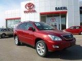 2009 Matador Red Mica Lexus RX 350 AWD #61966211