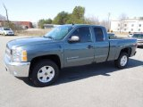 2012 Blue Granite Metallic Chevrolet Silverado 1500 LT Extended Cab 4x4 #61966964