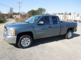 2012 Blue Granite Metallic Chevrolet Silverado 1500 Work Truck Extended Cab #61966963