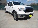 2010 Super White Toyota Tundra Double Cab #61966583