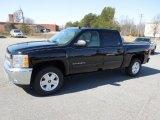 2012 Black Chevrolet Silverado 1500 LT Crew Cab 4x4 #61966961