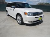 2010 White Suede Ford Flex Limited #61966575
