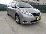2012 Silver Sky Metallic Toyota Sienna LE #61966568