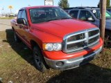 2005 Flame Red Dodge Ram 1500 ST Quad Cab 4x4 #61966556