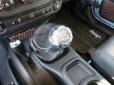 2012 Jeep Wrangler Sahara Arctic Edition 4x4 6 Speed Manual Transmission