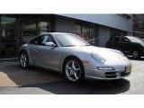 2007 Arctic Silver Metallic Porsche 911 Carrera Coupe #62036629