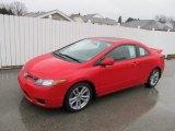 2007 Rallye Red Honda Civic Si Coupe #62036955
